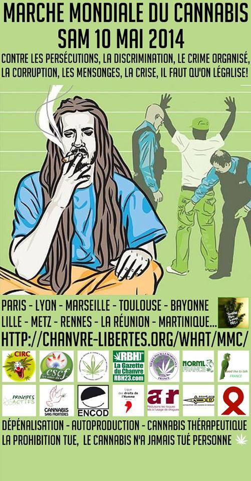 10 bonnes raisons de se rendre à la Marche mondiale du Cannabis