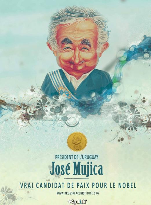 José Mujica pour le Prix Nobel de la Paix 2014 ?