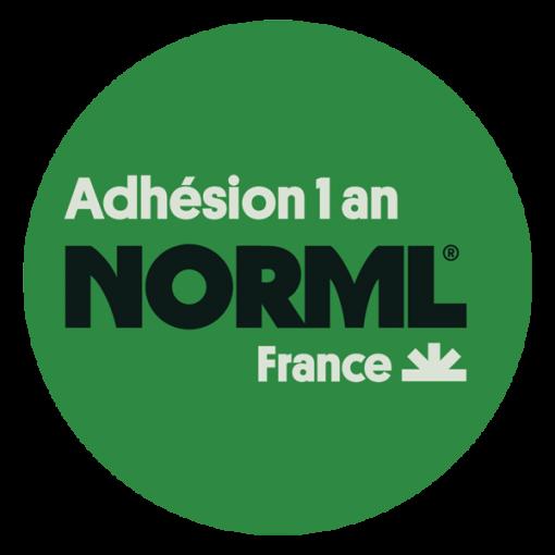 Adhérer à NORML France pour un an