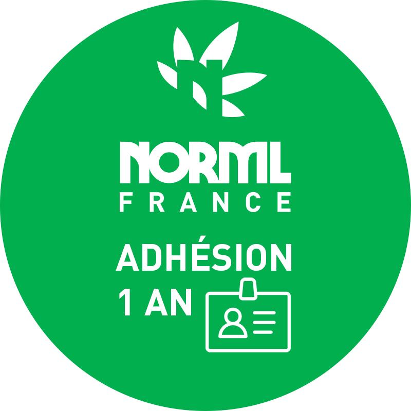 Adhésion NORML France 1 AN