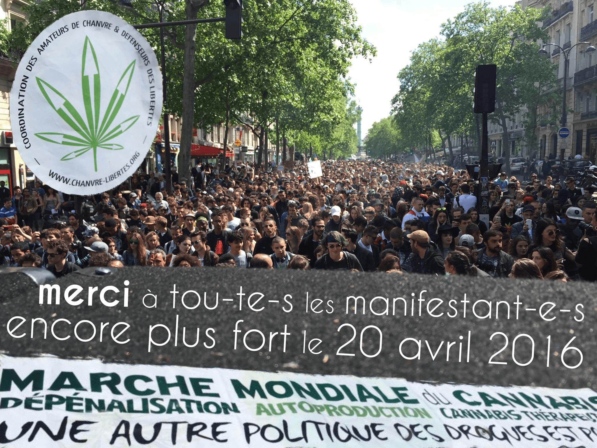 Marche Mondiale du Cannabis 2015 : un bilan encourageant