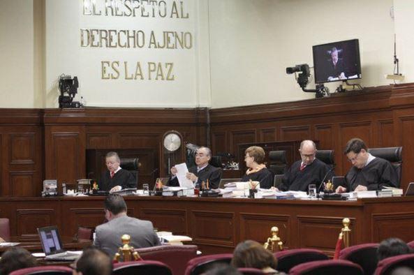 La Cour Suprême de Justice de la Nation lors du vote de la résolution, le 4 novembre 2015 (Photo Prensa Libre)