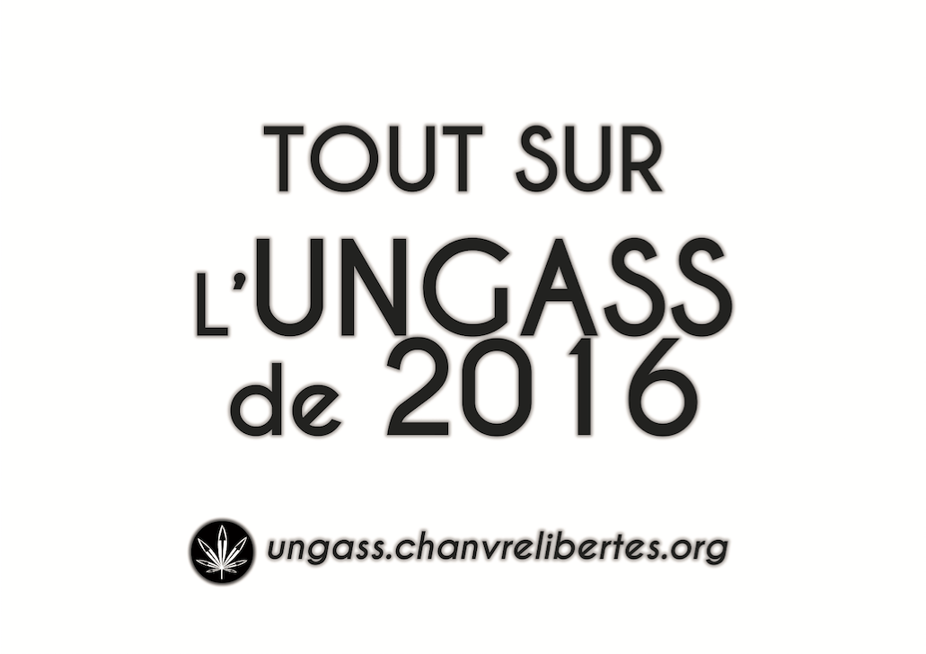 Tout sur l'UNGASS 2016, Sommet mondial sur les drogues.