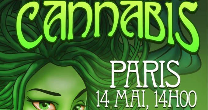 CP #13 Tous à la Bastille le 14 mai pour la 15ème Marche Cannabique Parisienne