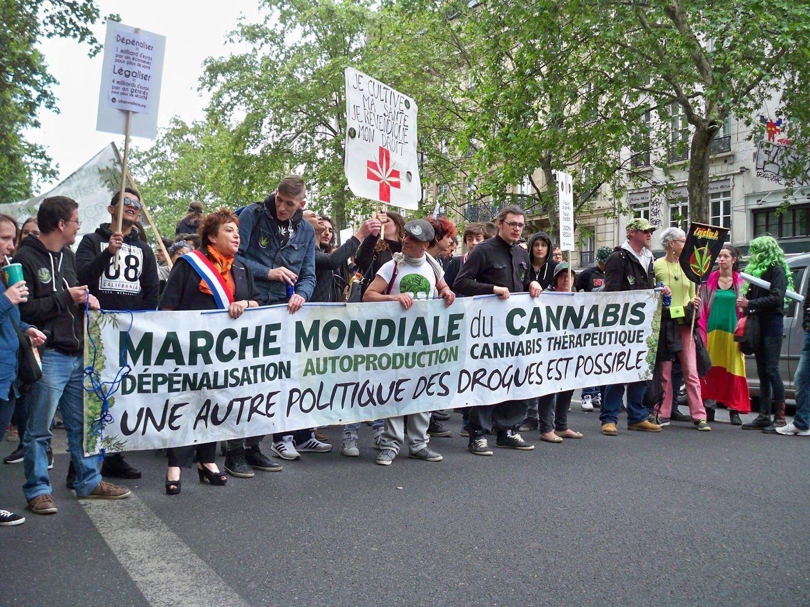 Bilan de la Marche Mondiale du Cannabis 2016