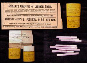 Cigarettes Grimault au cannabis