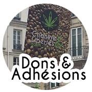 Adhésions, dons, souscriptions