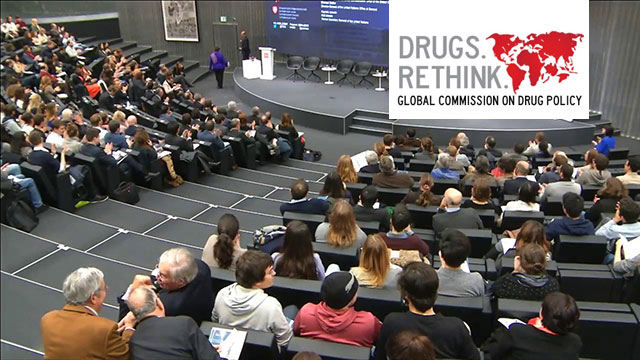 La Global Commission on Drug Policy s'installe à Genève : conférence