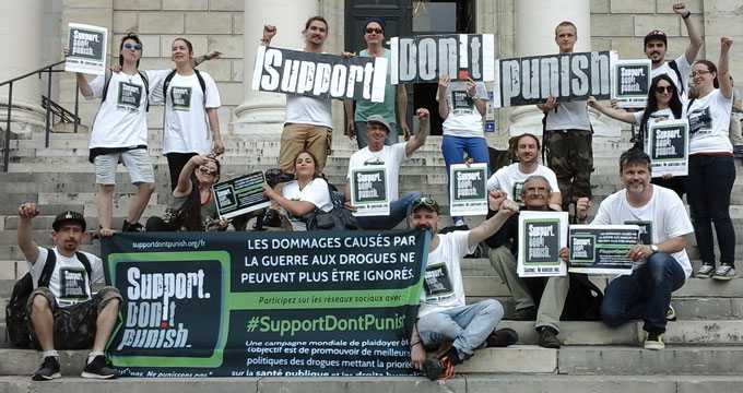 Résumé des actions #SupportDontPunish 2016 en France