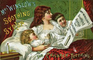 Mrs Winslow's Soothing Syrup