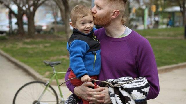 Waldo Dwyer et son papa