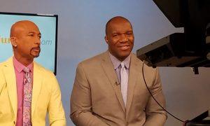 Montel Williams & Marvin Washington