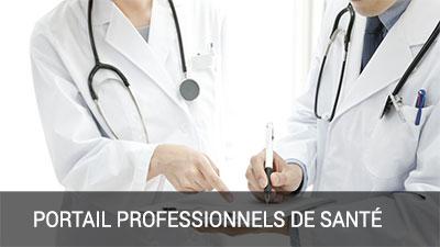 Portail professionnels de santé