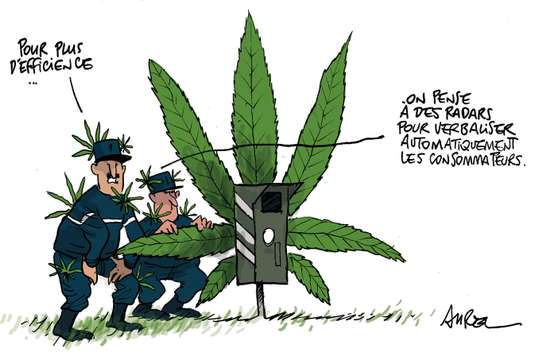 Dessin de Presse Radar Cannabis