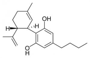 Construction moléculaire du CBD