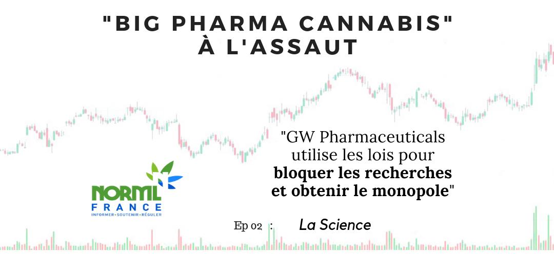 Le monopole de GW Pharmaceuticals sur les médicaments à base de cannabinoïdes
