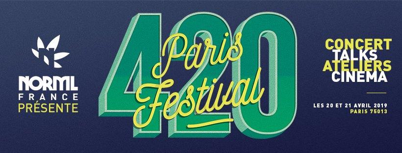 Rendez-vous au Paris 420 Festival pour un week-end festif et culturel !