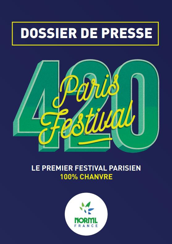 Dossier de presse 420 Festival