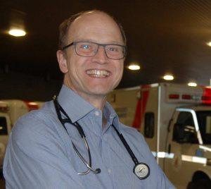 Dr. Jeffrey Brubacher, professeur associé aux département des urgences de l'UBC et chercheur au Vancouver Coastal Health Research Institute