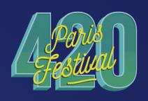 Paris 420 Festival logo