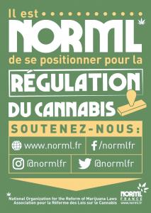 Soutenez la régulation, soutenez NORML France