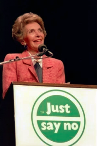 Nancy Reagan - Just say NO