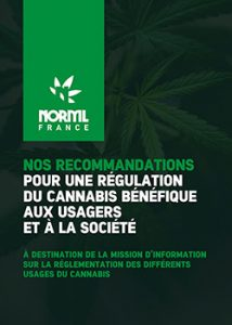 NORML France 22 recommandations de régulation du cannabis small a4