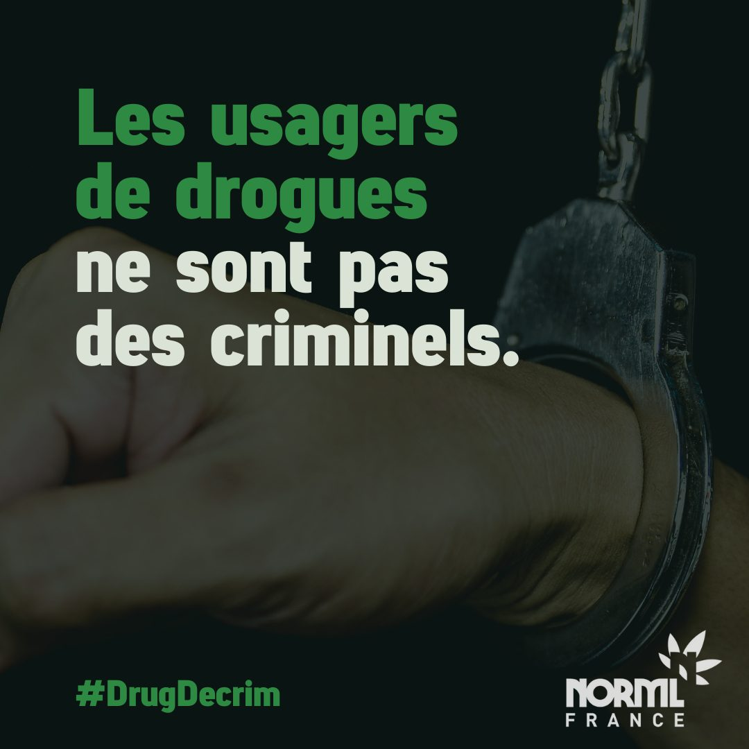Visuel #DrugDecrim NORML France