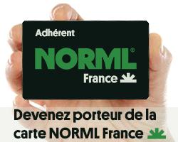 La carte NORML France